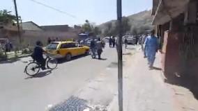 حضور طالبان در خیابان های کابل