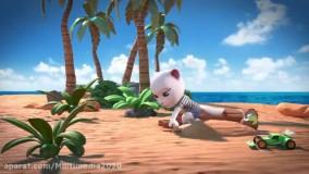 انیمیشن گربه سخنگو / برنامه کودک گربه سخنگو با داستان گیتار زنی
