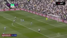 خلاصه بازی تاتنهام 1 - منچسترسیتی 0