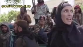 تغییر پوشش خبرنگار CNN بعد از تسلط طالبان