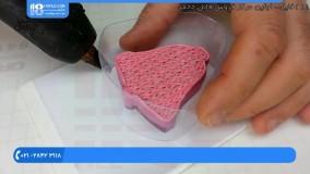آموزش صابون|ساخت صابون|صابون سازی(بسته بندی قالب صابون)