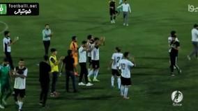 حرکت جوانمردانه و زیبا در فوتبال ایران