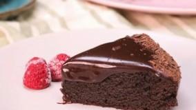 طرزتهیه کیک شکلاتی بدون فر