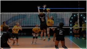 والیبال به کودکان-آموزش والیبال-  دفاع سه نفره
