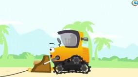 کارتون کودکانه ماشین بازی _ با داستان گاز گرفتن خرچنگ