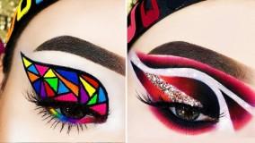 آموزش آرایش چشم و خط چشم 2021 _ ترفند های جدید آرایشی