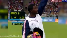 5 قهرمانی اخیر دومیدانی 100 متر تاریخ المپیک