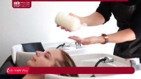 رنگ کردن مو-آموزش هایلایت مو-نحوه استفاده از اولاپلکس