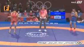 محمدرضا گرایی ، قهرمان المپیک شد