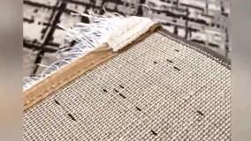 فرش پتینه (کهنه نما) کاشان طرح الیزه - دیجی دکوری