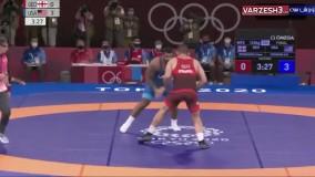 اوج هیجان ، کسب طلای وزن 125 برای آمریکا در ثانیه آخر