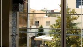 بالکن رویایی با پنجره پانوراما