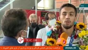 محمدرضا گرایی در بدو ورود به کشور:   نجاتی بخاطر کم تجربگی و نا داوری باخت