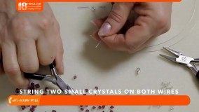 ساخت زیورآلات مهره ای- ساخت زیورآلات با مهره- آموزش ساخت ساخت دستبند