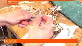 تعمیر پنکه رومیزی-آموزش تعمیر پنکه-  سرویس کردن و تمیزکاری پنکه دوقلو