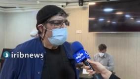 شعرخوانی محمد صالح علا در حاشیه واکسیناسیون