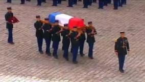 نوای موسیقی «موریکونه» در مراسم وداع با «بلموندو»