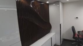 دیوارپوش پارمتریک ساده و مدرن