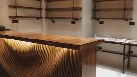 کانتر چوبی به سبک پارامتریک
