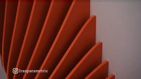 نمونه طراحیهای کانتر و دیوارپوش پارامتریک