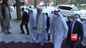 اولین دیدار نخست وزیر طالبان با یک مقام خارجی
