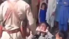 رفتار عجیب طالبان با معتادان در سطح شهر