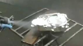 پیستوله دوجزئی دستگاه آبکاری  فانتاکروم ودستگاه مخمل پاش