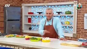 آموزش درست کردن سمبوسه قارچ و سیب زمینی با سامان گلریز