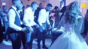 ستون فقرات داماد در جشن عروسی شکست !