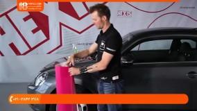 نصب کاور خودرو-آموزش روکش صندلی-اصول اولیه نصب کاورخودرو