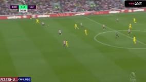 خلاصه بازی برنتفورد ۳ - لیورپول ۳
