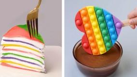 دستورهای ساده و سریع کیک شکلاتی : آموزش تزیین کیک و دسر