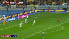 خلاصه بازی اوکراین 1 - فرانسه 1