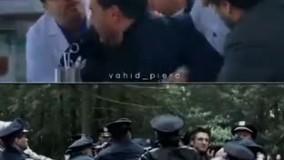 سکانسی از بازی جواد عزتی در زخم کاری