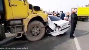 روش صحیح برخورد با صحنه تصادف