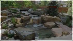 ساخت حوضچه و آبنما سنگی - پمپ آب