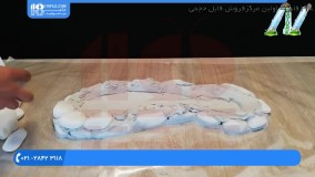 ساخت آبنما سنگی- آبنما رومیزی طرح کفش با استفاده از سنگ