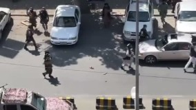 هجوم معترضان افغان به سمت ارگ ریاستجمهوری