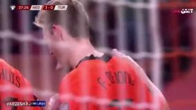 خلاصه بازی هلند 6 - ترکیه 1