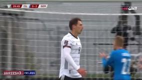 خلاصه بازی ایسلند 0 - آلمان 4